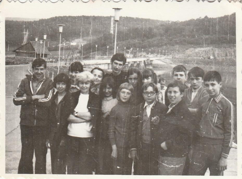 7.D oszt. Tárnicán (1976.)