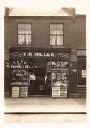 F H Miller's Shop 230 Hermitage Road, c1912