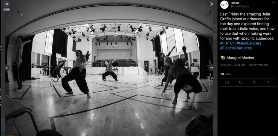 Impelo dance workshop