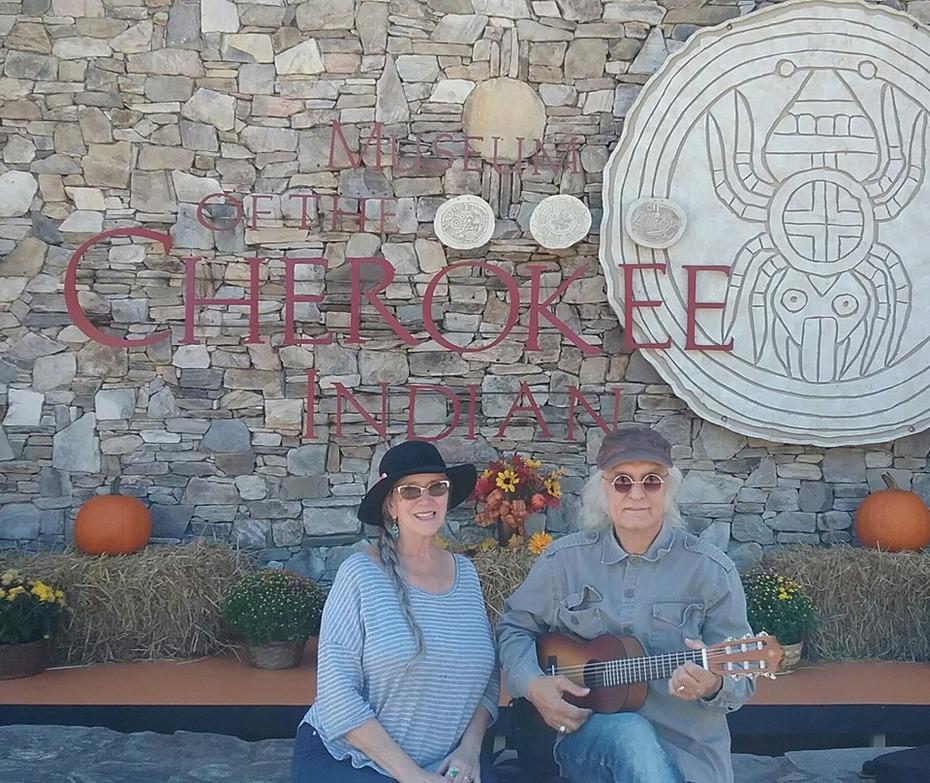 Joe Kidd & Sheila Burke Cherokee NC.