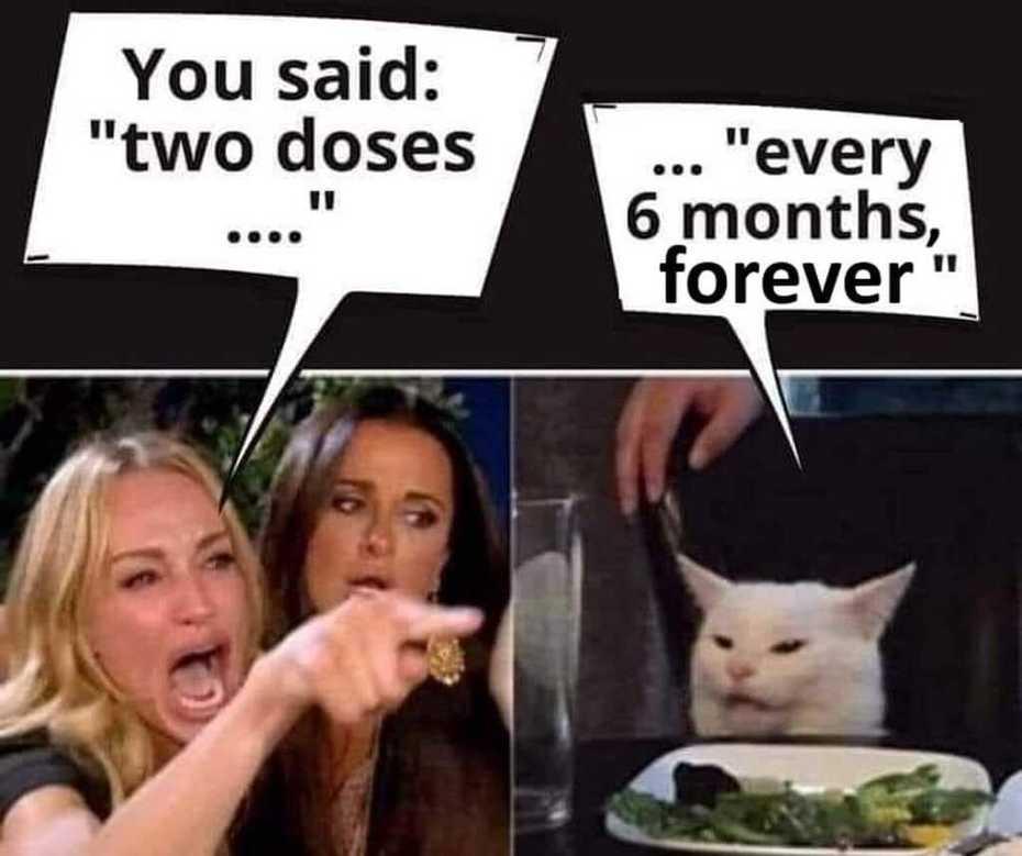 You said,,,,two doses