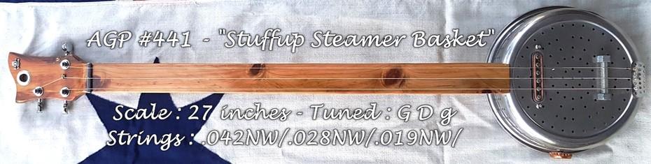 AGP #441 - ''Stuffup Steamer Basket''