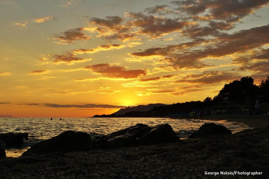 Ηλιοβασίλεμα Αυγούστου