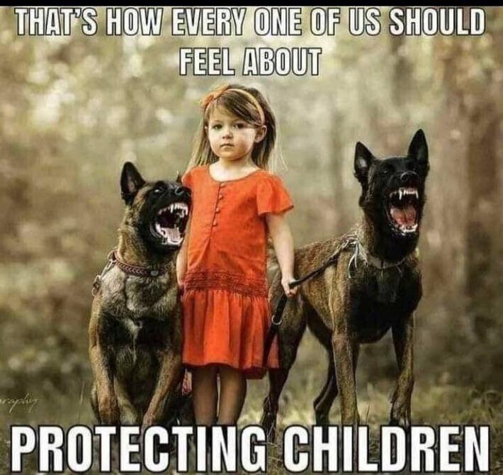 Save the kids.