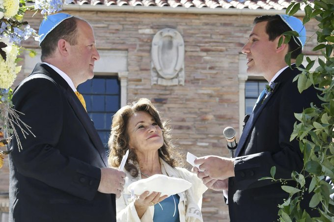Yarmulke on yarmulke marriage for the Colorado governor