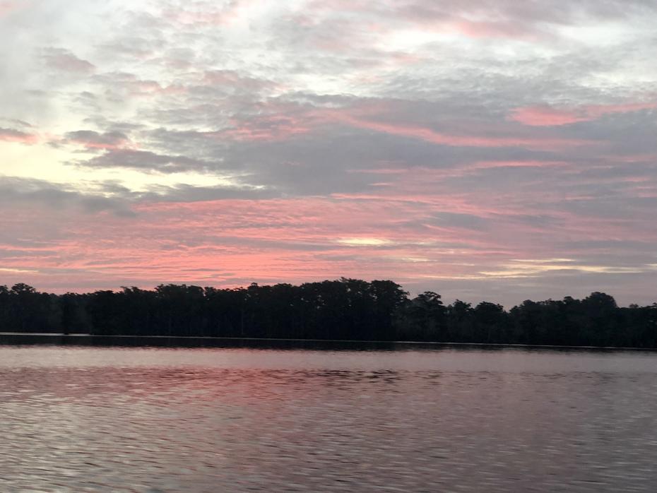 Late Summer Sunrise Over The Albemarle…9/18/2021