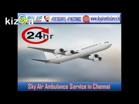Choose Air Ambulance in Mumbai with all Medical Tools