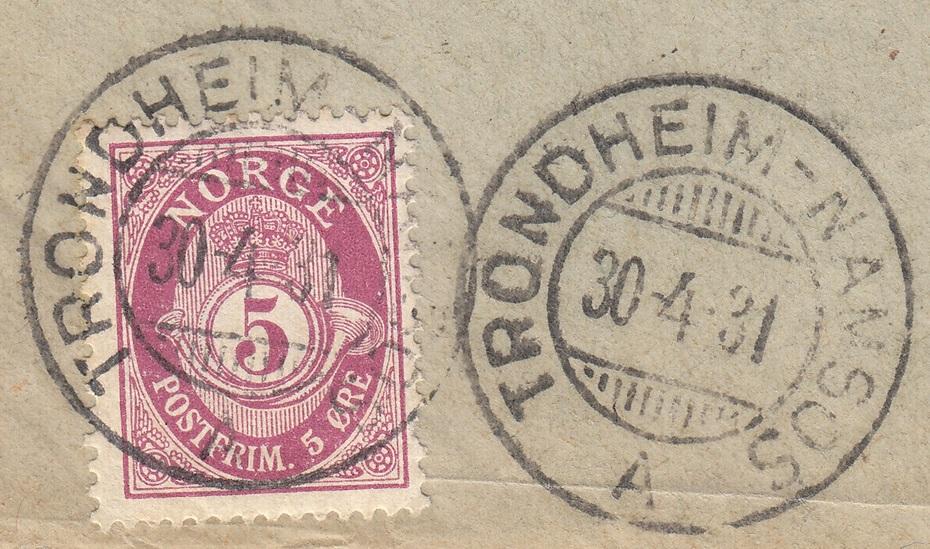 NK 118 Trondheim-Namsos