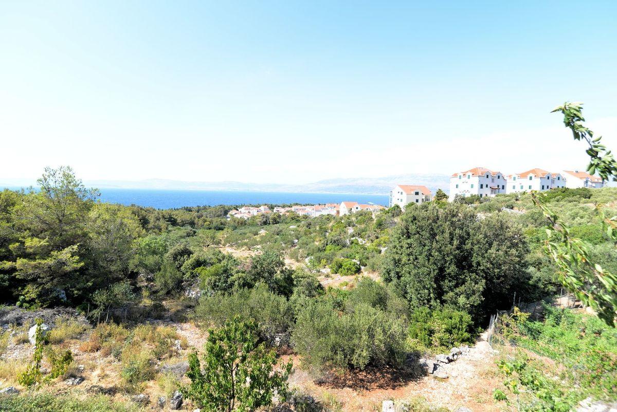 Brač Građevinska Zemljišta, Lokacija Supetar, Brač, Split ,  Građevinsko Zemljište Stambene i Turističke namjene