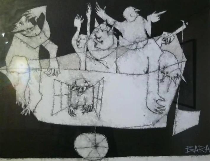 REFLETS D'UNE AME QUI SE CHERCHE : L'ŒUVRE DE MIHAI BARA