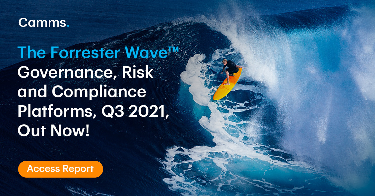 The Forrester Wave™ Governance, Risk and Compliance Platforms, Q3 2021