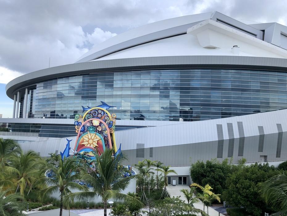 Loan Depot Park Outside - Miami Marlins