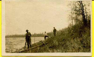 Surveyors at work circa 1912