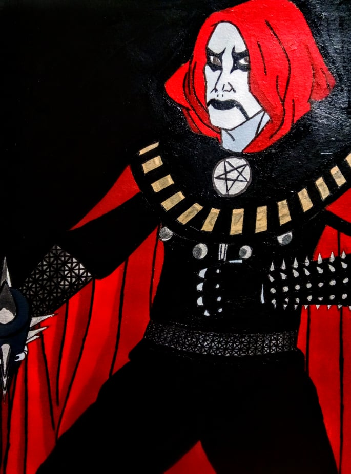 Black Metal Warrior