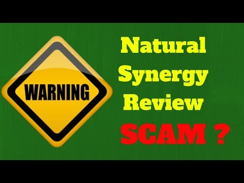 Natural Synergy Review *DO NOT* Buy Until You Watch This!