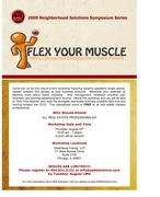 """""""Flex Your Muscle"""" - REALTOR workshop in Chicago (Lunch provided)"""
