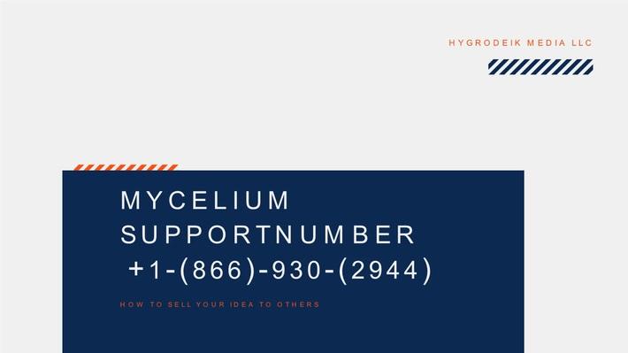 Mycelium Customer Support phone Number +1-(866)-930-2944