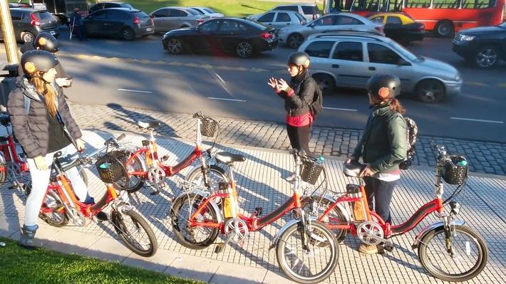 Bike n' Wander / E-Bike Tours / Buenos Aires, Argentina