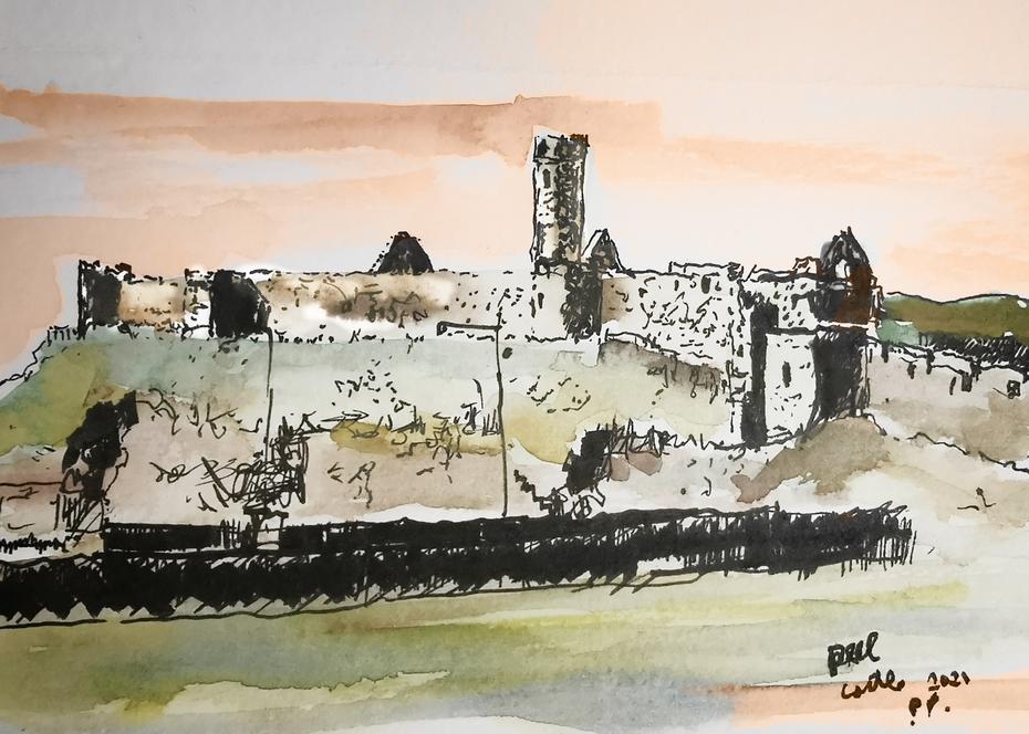 Peel Castle IOM