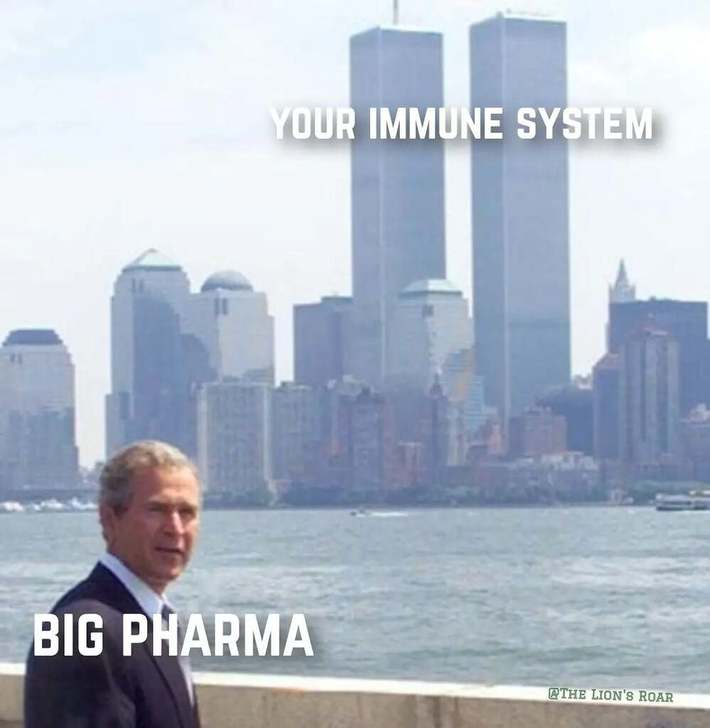 Big Pharma needs sick people to prosper. Chronic Patients, not healthy people
