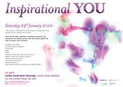 Inspirational YOU - Sat 29th January 2011 - FREE inspirational eve