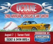 Octane in the Outfield - Atlanta Braves Car Show by AutoTrader Classics