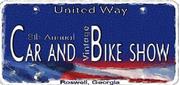 United Way of Metro Atlanta Car and Vintage Bike Show