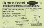 Bluegrass Festival / Car, Truck & Motorcycle Show -Somerville, AL
