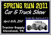 SPRING RUN 2011 Car & Truck Show -Cleveland, TN