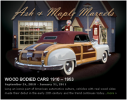 Ash and Maple Cars 1910-1953 -Hershey, PA