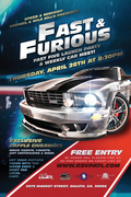 Fast & Furious- Fast Five Car show/meet & Launch off Party -Duluth, GA