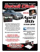 Adam's Premium Car Care Detail Clinic -Atlanta, GA