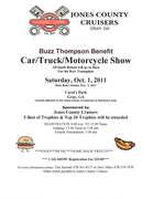 Buzz Thompson Benefit Car, Truck, Motorcycle Show -Gray, GA