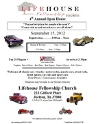 Lifehouse Fellowship Church Open House & Car Show -Joelton, TN