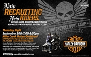 Men's Motorcycle Boot Camp -Roswell, GA