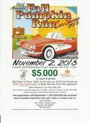 Annual Fall Pumpkin Run Car Show -Augusta, GA