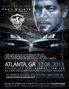 Ride in Memory - Paul Walker -Atlanta, GA (Dunwoody)