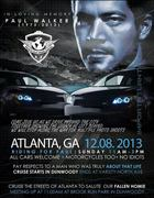 Ride in Memory - Paul Walker -Atlanta, GA (Dunwoody)