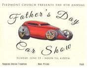 Piedmont Church 4th Annual Father's Day Car Show, Marietta, GA