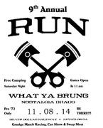 Run What Ya Brung 2014, Reynolds, GA