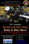 Annual British In The Blue Ridge Motorcycle Rally -Hiawassee, GA