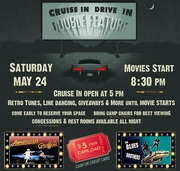 Glory Days Cruise In Drive In Movie Double Feature -Lithia Springs, GA