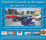 Edgefield Cruise-In on the Square -Edgefield, SC