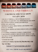 Wheels and Thrills Car, Truck and Cycle Show -Blairsville, GA