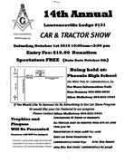 14th Annual Lawrenceville Lodge #131 Car & Tractor Show-Lawrenceville, GA--