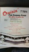 Cruise In For Canned Food - 100% Charity Show -Gainesville, GA