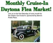 Daytona Flea Market Monthly Classic Car Cruise-In -Daytona Beach, FL