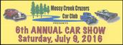 6th Annual Mossy Creek Cruzers Car Show -Jefferson City, TN