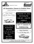 All Generation Camaro and Firebird Show at Summit Racing