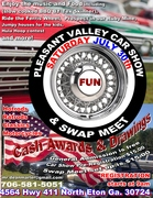 Pleasant Valley Car Show & Swap Meet -Eton, GA
